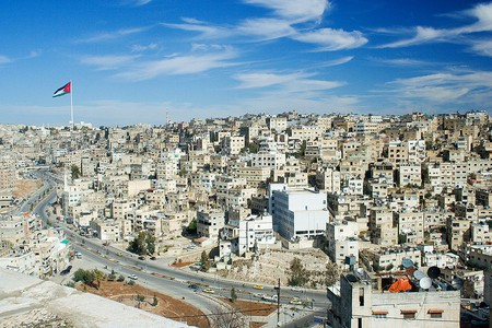 A view of Amman, the capital city of Jordan | © David Bjorgen / WikiCommons