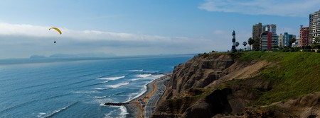 Miraflores coastline in Peru | © Juan Carlos Martins/Flickr