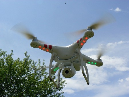Drones have been used for smuggling   © Peter Linehan/ Flickr