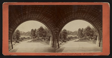 Looking west from under Cleft Ridge Span | Courtesy of Library of Congress, #2017649010