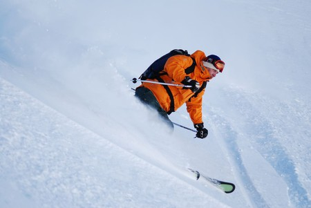 Heli ski in La Parva, Chile ©  Alex Grechman / flickr