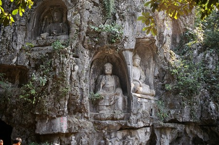 Lingyin temple grottoes | ©Ramon