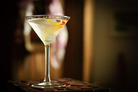 A gin martini | © Don LaVange / Flickr