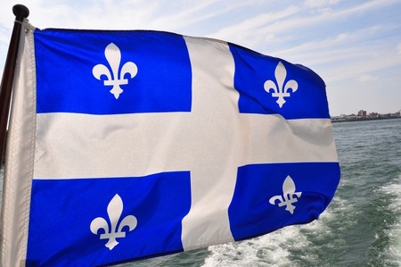 The Fleurdelisé, the flag of the province of Quebec   ©abdallahh / Flickr