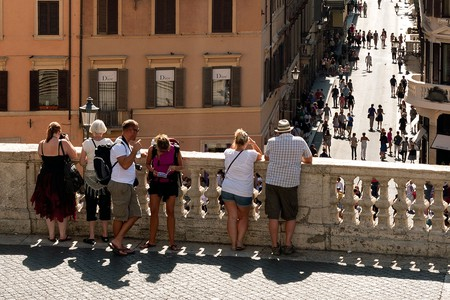 Tourists On The Spanish Steps | © cappellacci/Flickr