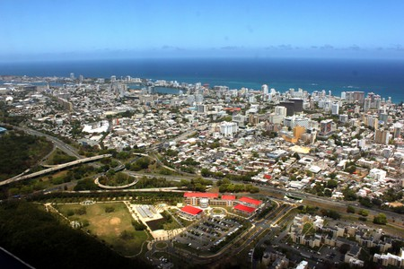 Aerial view of Condado in San Juan | © Prayitno/Flickr