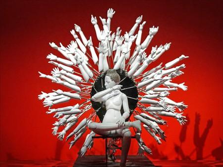 Bouddha, Oeuvre de Wang Zi Won (Corée du sud, 1980), at Musée du quai Branly, Paris │© Jean-Pierre Dalbéra / Flickr