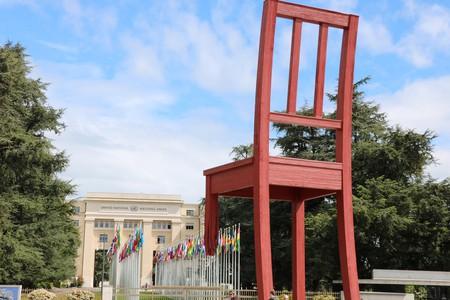 Geneva's Broken Chair  © Sean Mowbray