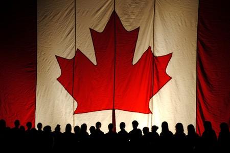 The Canadian flag   © Brandon Giesbrecht / Flickr