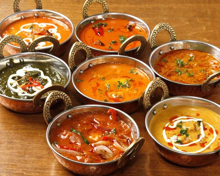 Dishes at Mother India © Mother India