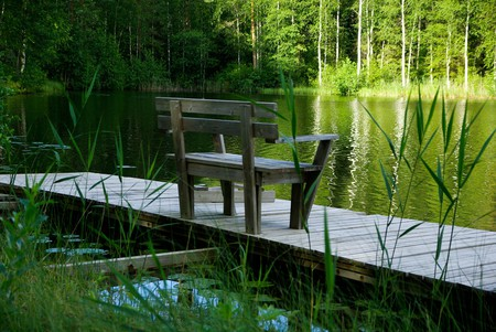 Finnish lakeside |© Pixabay