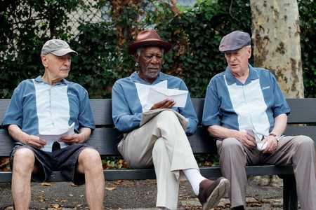Morgan Freeman in 'Going in Style' | © Warner Bros.