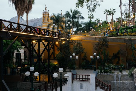 Barranco's famous bridge is one of the many things to love about Lima's unique neighborhoods