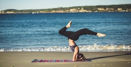 Yoga on the beach | © pexels/Pixabay