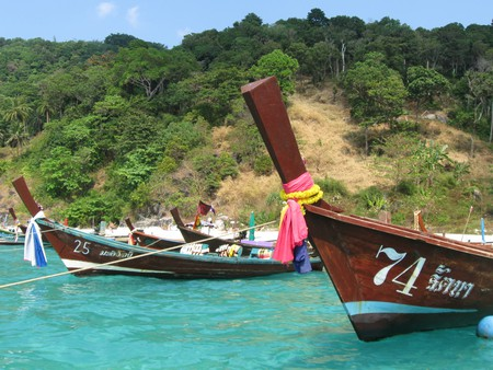 Thailand Long Tail Boats | © Natasha Bene