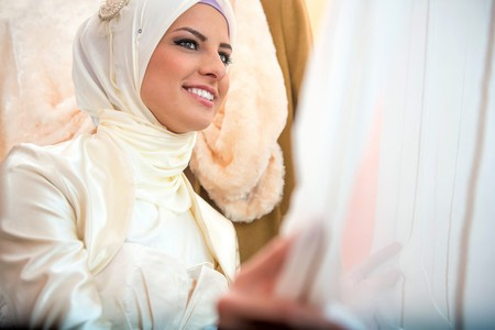 A bride, ready for her big day  © Shutterstock