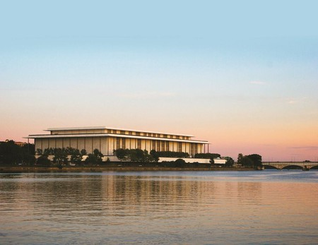 Kennedy Center at Dusk | Courtesy of the Kennedy Center (Photo by Regis Vogt)