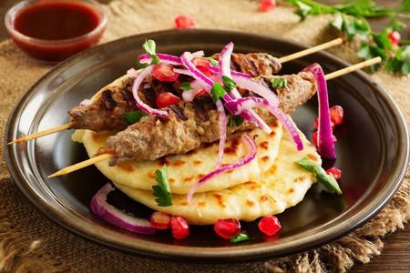 Lamb Kebab with Homemade Flatbread   © Lesya Dolyk / Flickr