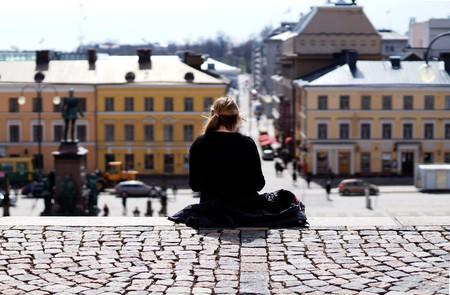 The steps of Helsinki's Senate Square / Public domain / Pixabay