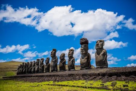 Moai | © voltamax / Pixabay