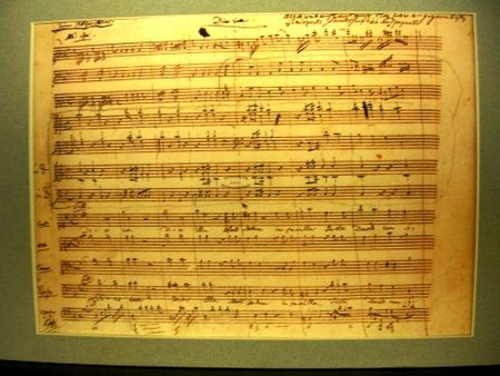 Requiem Mass in D minor in Mozart's own handwriting | ©JelloSheriffBob / Wikimedia Commons