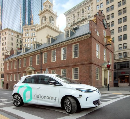 One of nuTonomy's cars in Boston | Courtesy nuTonomy