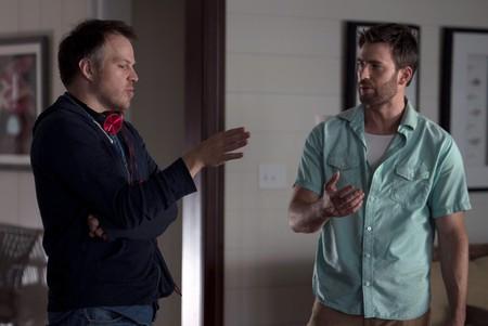 Marc Webb and Chris Evans in the film 'Gifted' | © Wilson Webb/2017 Twentieth Century Fox Film