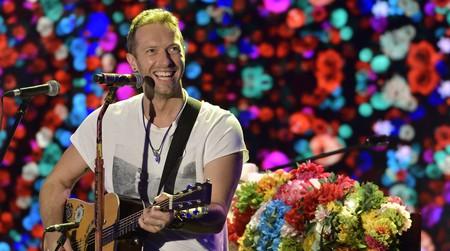 Chris Martin of Coldplay © Flavio Lo Scalzo / AGF/REX/Shutterstock
