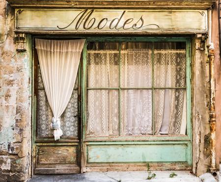 Vintage fashion store