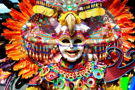 Colorful, Smiling Mask |© Hijodeponggol / Shutterstock