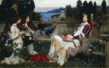 John William Waterhouse, 'Saint Cecilia' (1895) | Wikimedia Commons