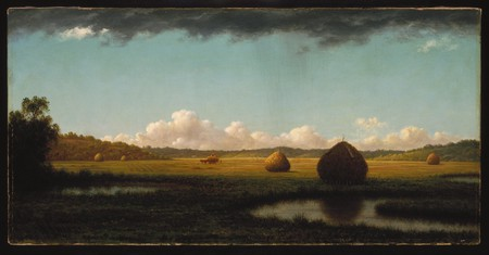 'Summer Showers' by Martin Johnson Heade (1865-1870) | ©WikiCommons