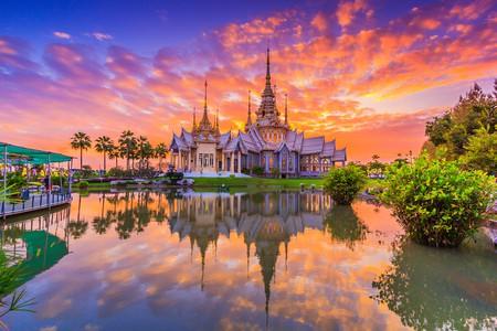 Sunset at Wat Non Kum temple, Thailand | © Apiguide/Shutterstock