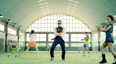 Still of music video for Psy 'Gangnam Style'   © officialpsy/YouTube
