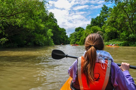 Kayaking in Kamchia River   Courtesy of Bulteam Adventures