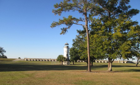 Milneburg Lighthouse   © Infrogmation of New Orleans / Flickr