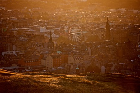 Sunset Over Arthurs Seat | © Marco Bellucci/Flickr