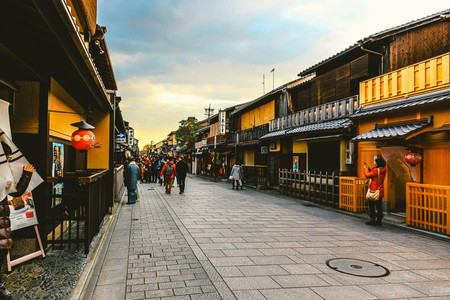 Hanamikoji Street in the Gion District | © hans-johnson / Flickr
