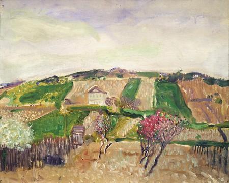Richard Gerstl, Grinzing, spring 1906   Private Collection, Courtesy Galerie St. Etienne, New York