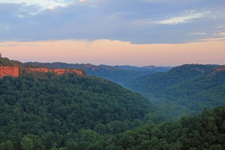 View from Chimney Top Rock at Red River Gorge   © Anthony / Flickr