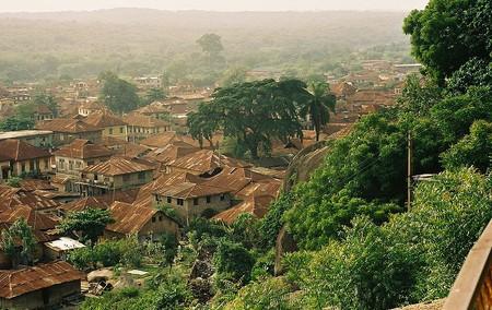 "View of Abeokuta from Olumo Rock, Nigeria | © Melvin ""Buddy"" Baker / WikiCommons"