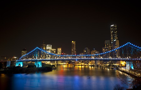 Brisbane City at Night | Steve Collis / Flickr