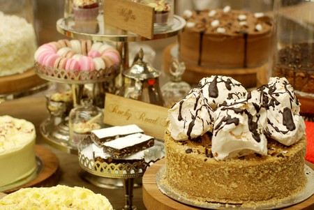 Walnut Grove in Sandton City serves a variety of freshly baked goods, ideal for a snack after a shopping spree  Courtesy of Walnut Grove