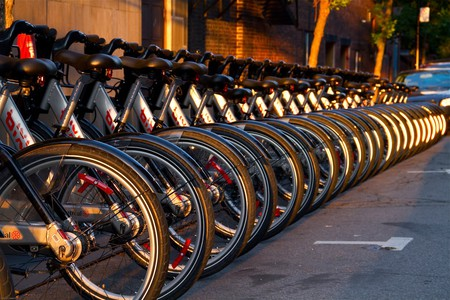 BIXI rental bikes in Montreal | ©  Mike/ Flickr