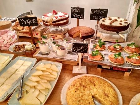 Brunch buffet at Brass 27, Bilbao