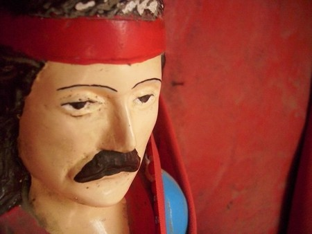 The popular mustachioed image of Gauchito Gil | © Camilo Kawerín/Flickr