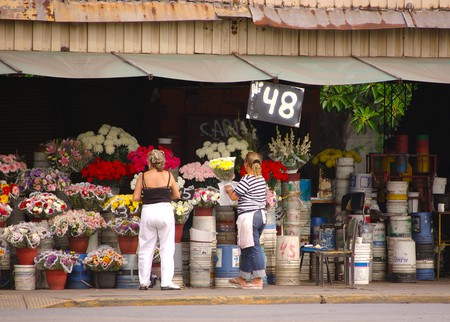 Flower sellers in Chacarita | © Beatrice Murch/Flickr