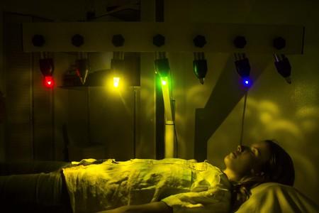 Chakra light therapy