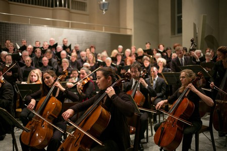 Classical music orchestra