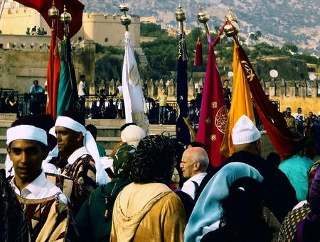 A folk festival in Morocco | © Wikimedia Commons